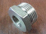 "Футорка       3/8"" х 3/4"", НВ, ник. General Fittings ® 260044N050300H Made in Italy [10]"